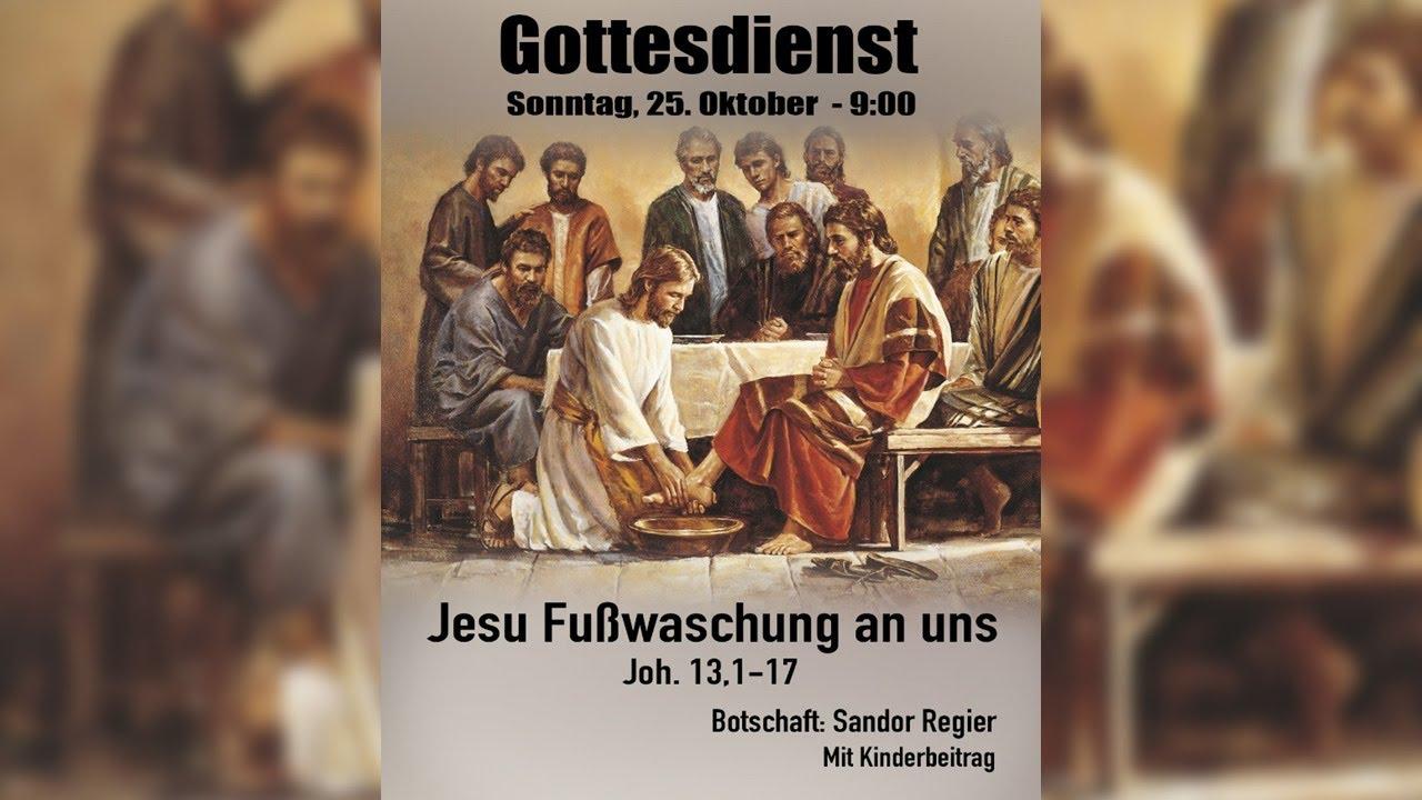 Jesu Fußwaschung an uns